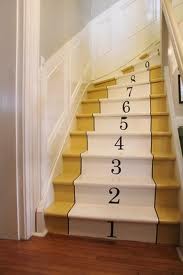 Numbered stairs ella boo and company